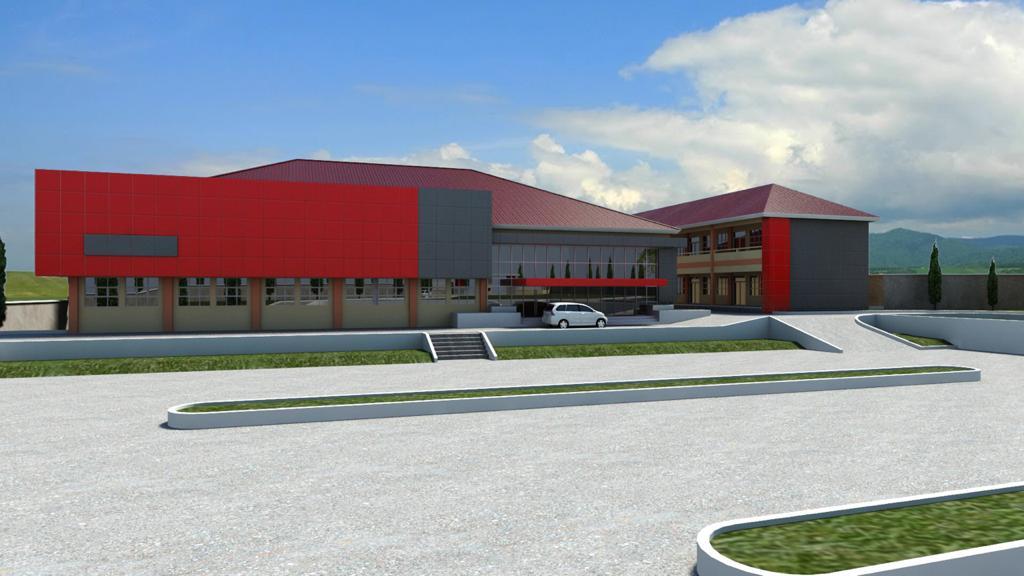 Tampilan Terbaru Gedung Baru Universitas Efarina